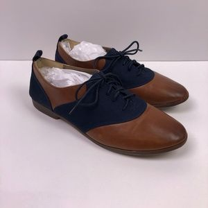 Restricted Shoes - Vintage Style Oxford Wing Tip Shoes